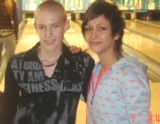 David si zahral bowling so Zdenkou Prednou