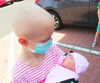 Reborn bábika pre Dorotku z onkológie
