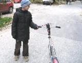 Dankov sen: kolobežka s nafukovacími kolesami